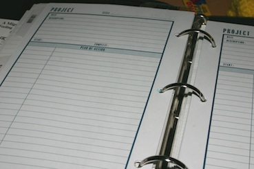 Image of a Dayplanner.